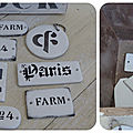 DIY FAUSSES PLAQUES EMAILLEES