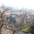 La ville vue du Château de Prague