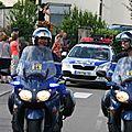 723 Tour de France à Boussières - la caravane