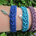 1, 2, 3 ... bracelets
