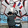 Je suis Paris : Les larmes de <b>Gavroche</b> (Street Art)