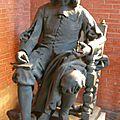 La statue de fermat en 1882