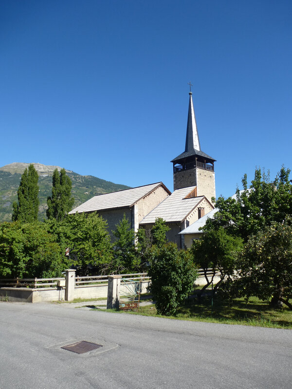Le clocher de Villard St Pancrace