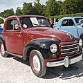FIAT 500C Topolino 1949 Schwetzingen (1)