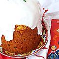 Brioche de pâques #6: koulitch, le sommet enneigé de la brioche