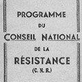 Raccrocher notre pays au monde, en défaisant méthodiquement le travail du conseil national de la résistance