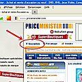 Acheter/vendre des objets d'occasion : price minister partie 1/ l'inscription