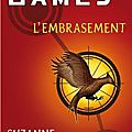 L'embrasement, suzanne collins