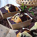Zebra cake, la recette parfaite du cake marbré