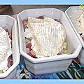 Cocotte au camembert et pommes