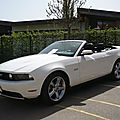 FORD Mustang GT V8 5.0 convertible Châtenois (1)