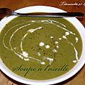 Soupe a l'oseille (au thermomix)