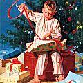 christmas wrapping art bye gordon johnson