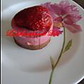 Mousse fraise et menthe chocolat
