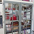 Ancienne bibliothèque pour mon atelier, 1ère partie.