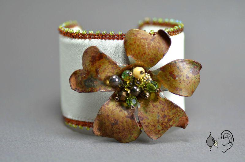 bracelet fleur1