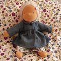 manteau en jean et vichy, patron Alice de Citronille...