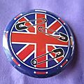 Badge so british! 30 mm