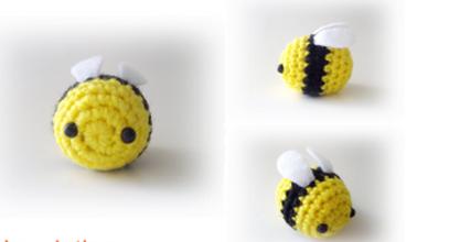 abeille porte-clés