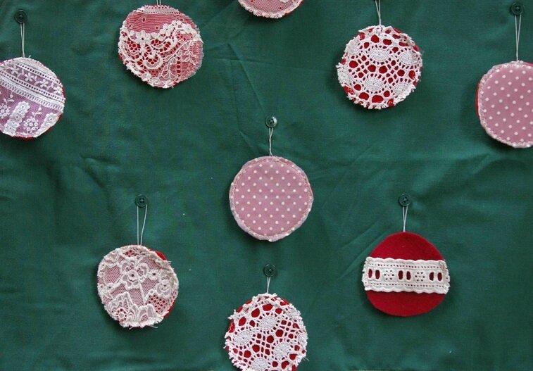 Boules de Noël en 2 dimensions