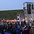 Concert militaire au crépuscule