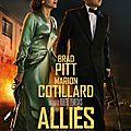 Brad Pitt - Marion Cotillard dans Alliés
