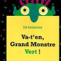 Mini-livre du grand monstre vert