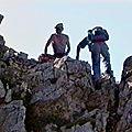 Tête des Vautes 2188 m du <b>lac</b> <b>Lauzon</b> – Dévoluy