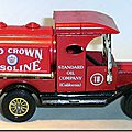 Y-3 Ford Model T Tanker Red Crown Gasoline A 4