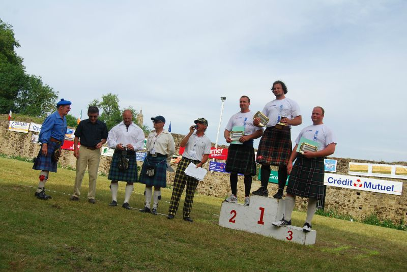 Bressuire highlights, les grandes dates des Highland games