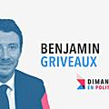 <b>DIMANCHE</b> EN POLITIQUE SUR FRANCE 3 N°35 : BENJAMIN GRIVEAUX