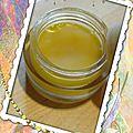 Baume des abeilles (cosmétique home-made)