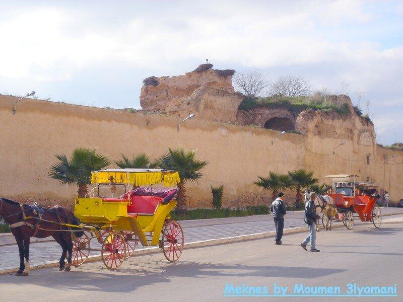 Les Caléches a Meknes