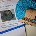 Des kits crochet : le snood, by gen