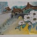 Peintures, pastels et dessins