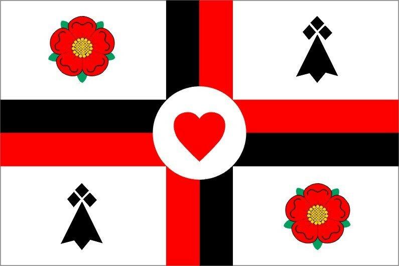 Amitié anglo-bretonne / English-Breton Friendship Flag