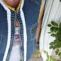 Diy -tuto # customiser une veste en jean