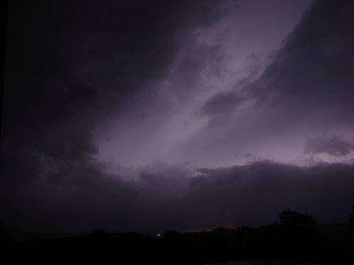 2008 09 04 Lumière occasionné par les éclaires du soir