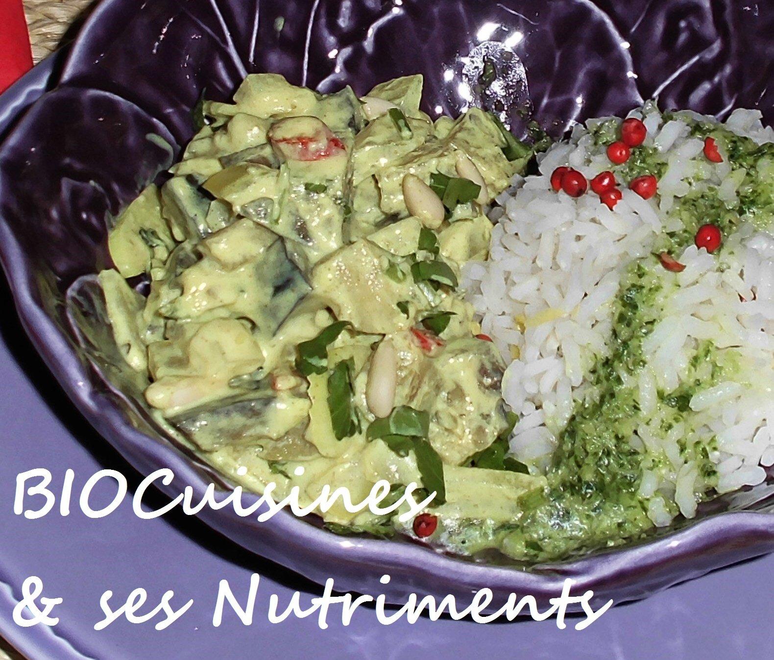 aubergine yogourt curry