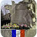 Samedi 27 juin 2015 à lagnes: inauguration de la plaque commémorative 1945-2015 du groupe franc kléber