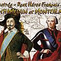 Revue illustrée - Deux Héros Français au Canada CHAMPLAIN et MONTCALM (la Nouvelle France et Puy du Fou)