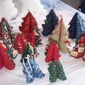 Sujets de Noël en Tissus