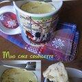 Mug cake à la courgette