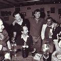 Au Club House, 1989, avec les lecteurs d'anglais