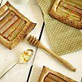 Tartelettes à la rhubarbe.....
