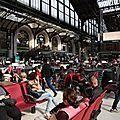 Paris : une bibliothèque éphémère gare de lyon