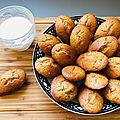 Madeleines <b>healthy</b> sans beurre
