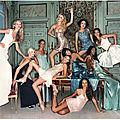 1994, The Queens pour Versace par Michel Comte