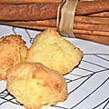Rochers à la noix de coco, kokos bredele, bredele story épisode 8