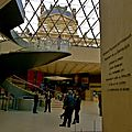 Dans l'enceinte du Grand Louvre.